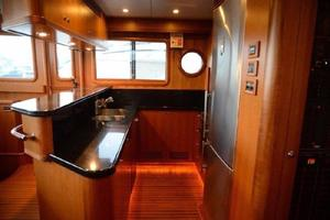73' Selene 66 Flybridge 2009 Galley