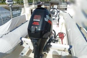 73' Selene 66 Flybridge 2009 Tender Outboard 50 Suzuki