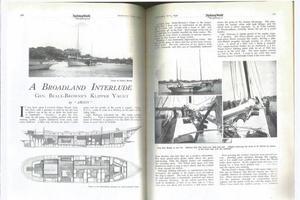 85' Custom Devries Lentsch Ketch 1930