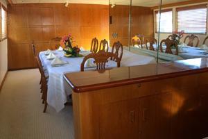 photo of Broward-Raised-Pilothouse-1982-ESPRIT-La-Paz,-Baja-California-Sur-Mexico-Dining-Area-387317
