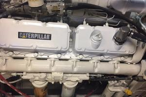 106' Broward Raised Pilothouse 1982 Engine