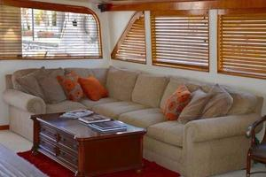 106' Broward Raised Pilothouse 1982 Salon to Port