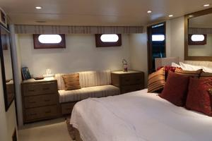 106' Broward Raised Pilothouse 1982 Master Cabin