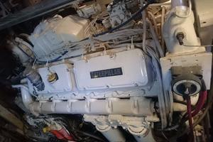 106' Broward Raised Pilothouse 1982 Starboard Engine