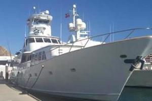 106' Broward Raised Pilothouse 1982 Bow
