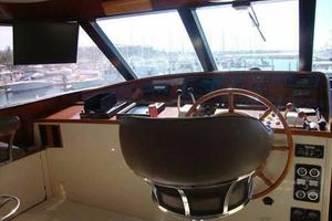 106' Broward Raised Pilothouse 1982 Pilot House Helm