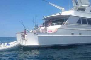 106' Broward Raised Pilothouse 1982 Starboard Aft Quarter