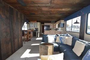 65' Sumerset Houseboat 1993 Midline Salon Galley Bar