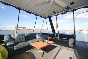 65' Sumerset Houseboat 1993 Bow Porch