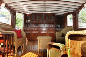 75' Custom 75 Commuter Yacht 1928 Salon Aft