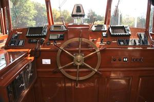 75' Custom 75 Commuter Yacht 1928 Helm