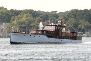 75' Custom 75 Commuter Yacht 1928 Port