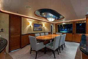 130' Westport Tri-Deck 2003 Dining