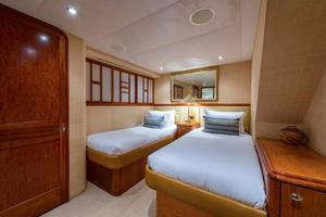 130' Westport Tri-Deck 2003 Port Guest Stateroom
