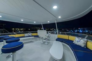 130' Westport Tri-Deck 2003 Top Deck Night Shots