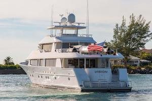 130' Westport Tri-Deck 2003 Port Aft Quarter