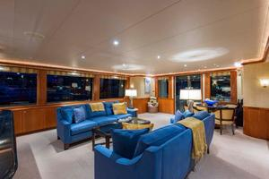 130' Westport Tri-Deck 2003 Main Salon