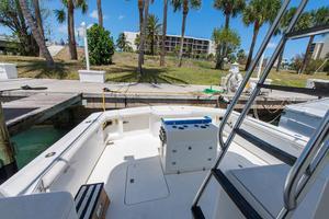 56' Ocean Yachts Super Sport Enclosed Bridge 2000 Deck - Cockpit