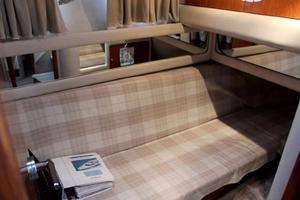 48' Sea Ray 480 Sedan Bridge 1999 Guest Cabin Sofa