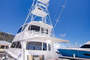 65' Viking Enclosed Bridge 2001 Port Aft Quarter