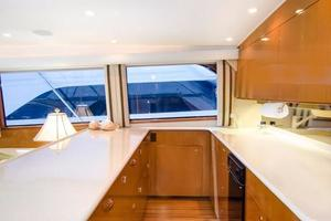 65' Viking Enclosed Bridge 2001 Galley