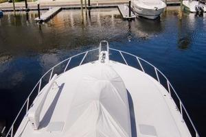 65' Viking Enclosed Bridge 2001 Foredeck