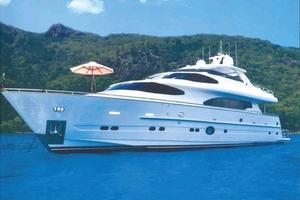 97' Horizon 97 Motoryacht With Raised Pilothouse And Skylounge 2011 Starboard View