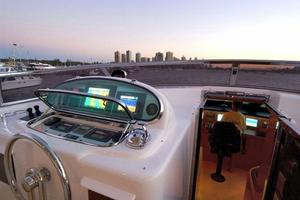 97' Horizon 97 Motoryacht With Raised Pilothouse And Skylounge 2011 Flybridge Helm
