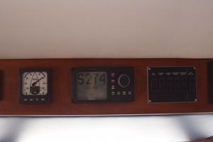 75' Burger Raised Pilothouse 1958 Above Helm Detail