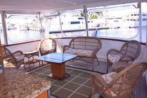 75' Burger Raised Pilothouse 1958 Aft Deck