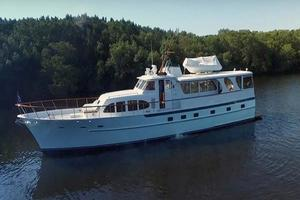 75' Burger Raised Pilothouse 1958 Starboard Side View