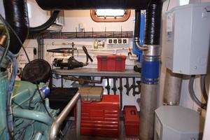75' Burger Raised Pilothouse 1958 Starboard Side Workbench