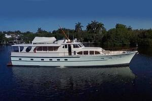 75' Burger Raised Pilothouse 1958 Starboard Profile