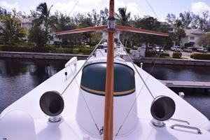 75' Burger Raised Pilothouse 1958 Top Deck View