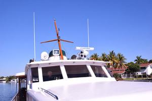 75' Burger Raised Pilothouse 1958 Outside View of Wheelhouse