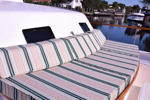 75' Burger Raised Pilothouse 1958 Bow Cushions