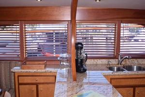 75' Burger Raised Pilothouse 1958 Galley into Settee Area