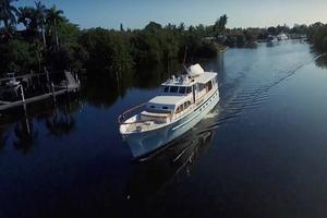 75' Burger Raised Pilothouse 1958 Bow Starboard View