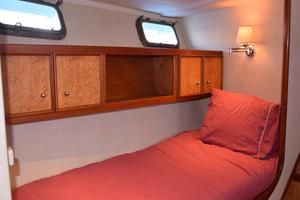 75' Burger Raised Pilothouse 1958 Starboard Bunk Crew Extra Guest Cabin