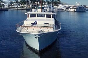75' Burger Raised Pilothouse 1958 Bow View