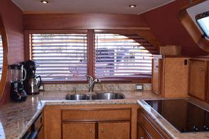 75' Burger Raised Pilothouse 1958 Galley to Port View