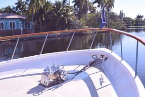 75' Burger Raised Pilothouse 1958 Bow and Windlass