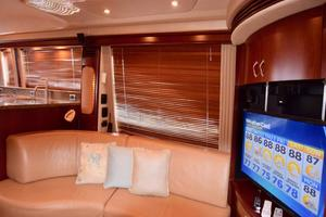 Sea-Ray-550-Sedan-Bridge-2005-March-Madness-Pompano-Beach-Florida-United-States-Salon-to-Starboard-with-TV-277844
