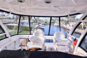 Sea-Ray-550-Sedan-Bridge-2005-March-Madness-Pompano-Beach-Florida-United-States-Flybridge-Helm-277880