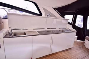 48' Azimut 48 ATLANTIS 2013 Starboard Side BBQ, Wet Bar and Refrigerator