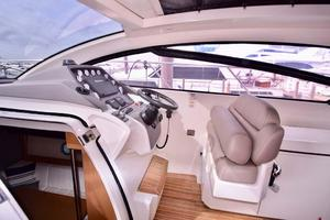 48' Azimut 48 ATLANTIS 2013 Helm Cushion Seating Up