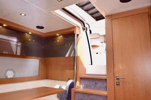 48' Azimut 48 ATLANTIS 2013 Entry Way and Galley View to Settee