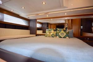 48' Azimut 48 ATLANTIS 2013 Owners Quarters View to Stbd.