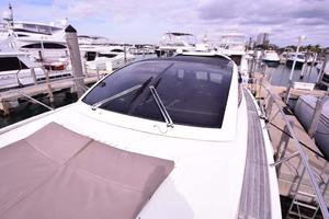 48' Azimut 48 ATLANTIS 2013 Windshield and Bow Sun Pad