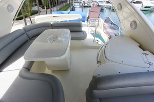 62' Azimut 62 Flybridge 2007  Flybridge Looking Aft